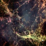 the Heart of the Crab Nebula