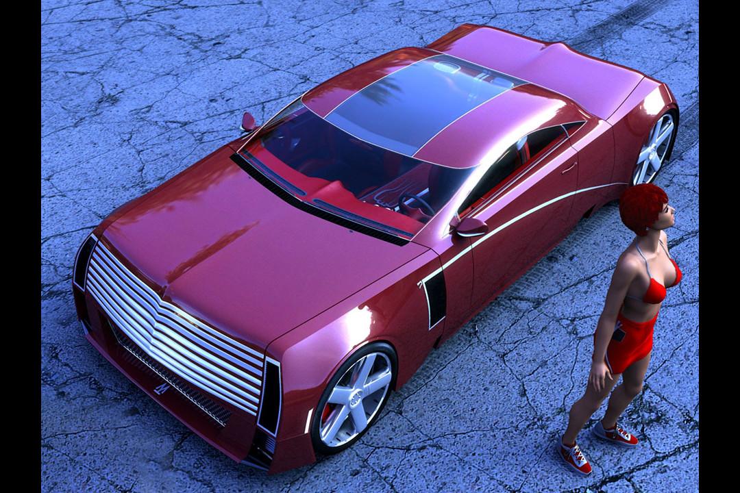 Taras 3D Concept Car