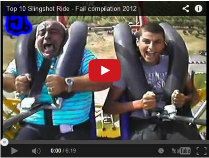 Top 10 Slingshot Ride – Fail compilation 2012