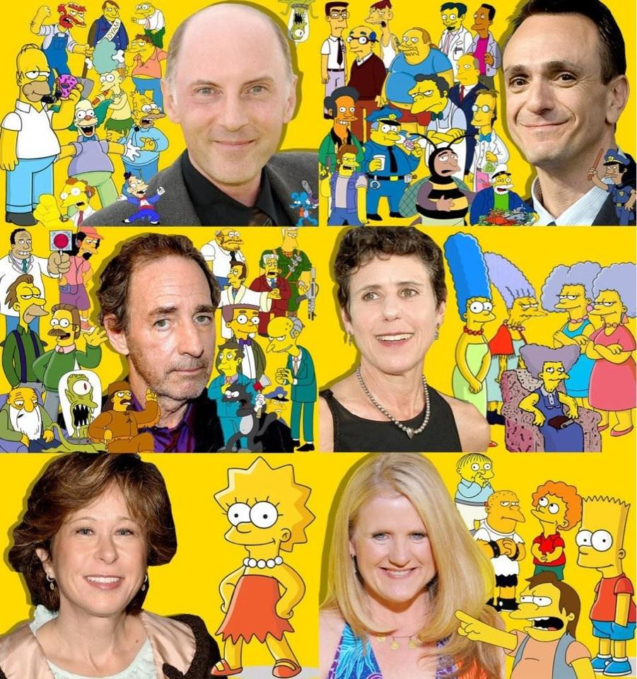 The Simpsons Voices